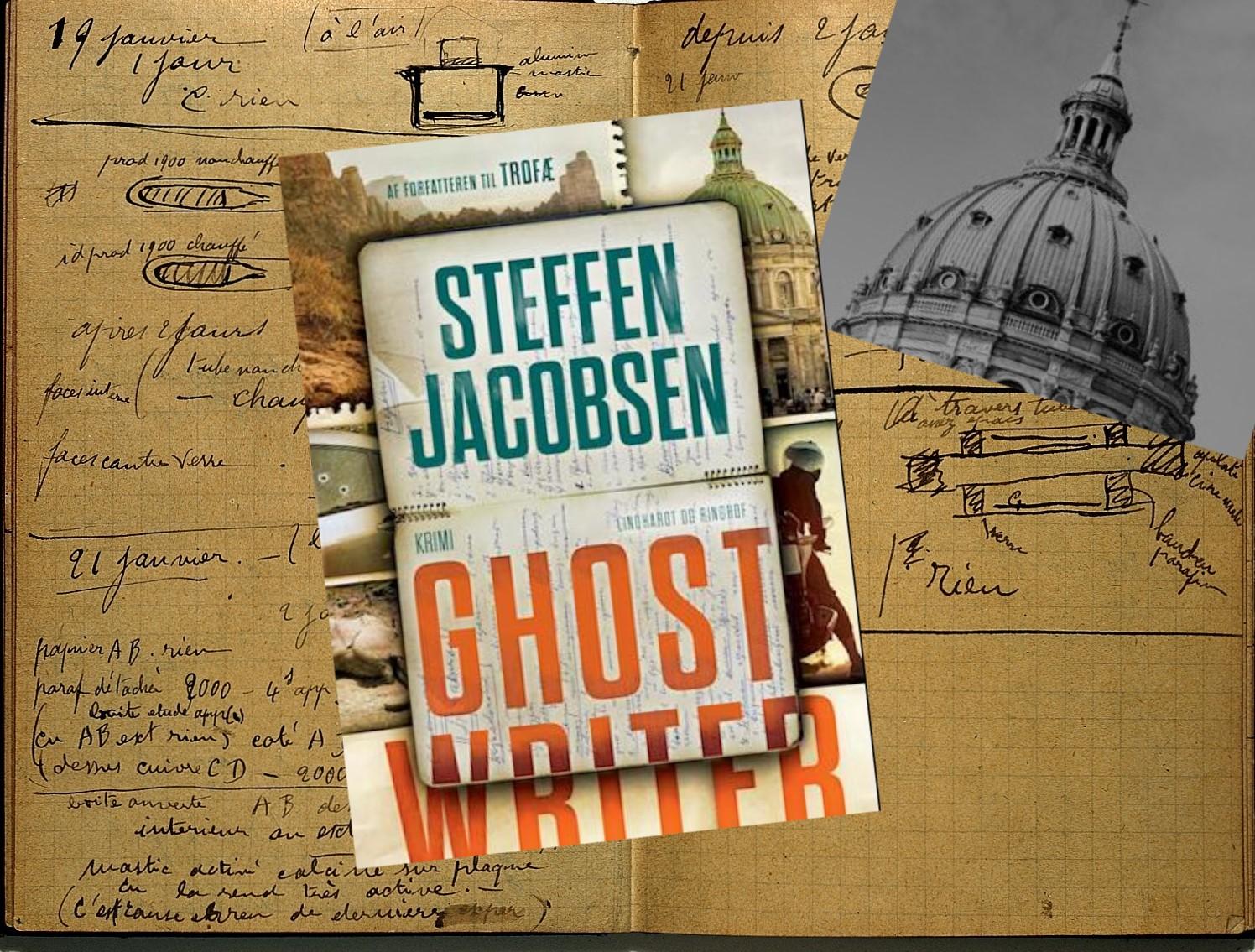Ghostwriter af Steffen Jacobsen