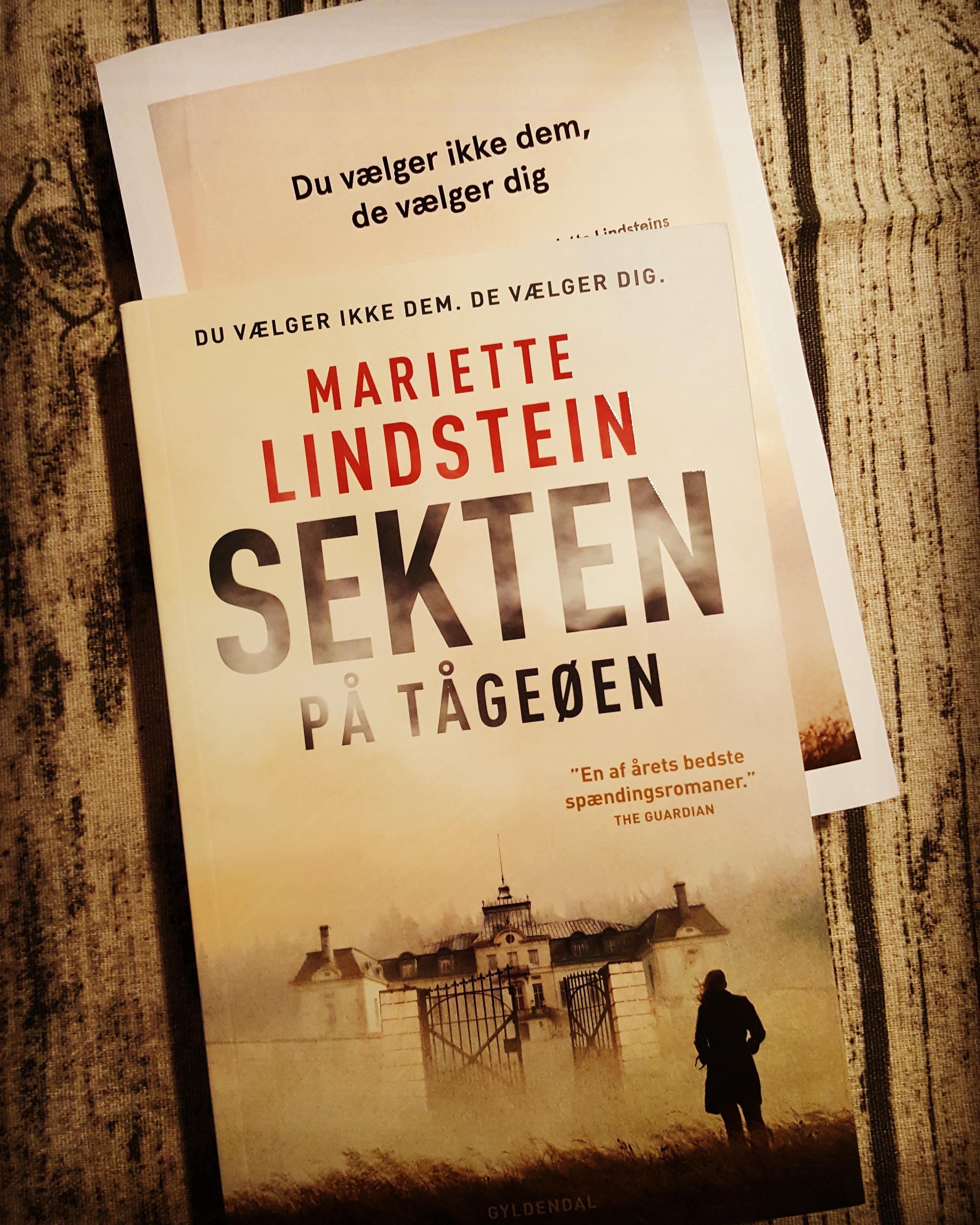 Sekten på Tågeøen af Mariette Lindstein