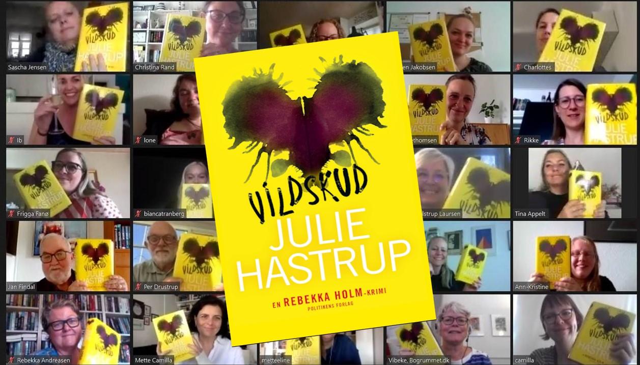 Vildskud af Julie Hastrup (Rebekka Holm #8)