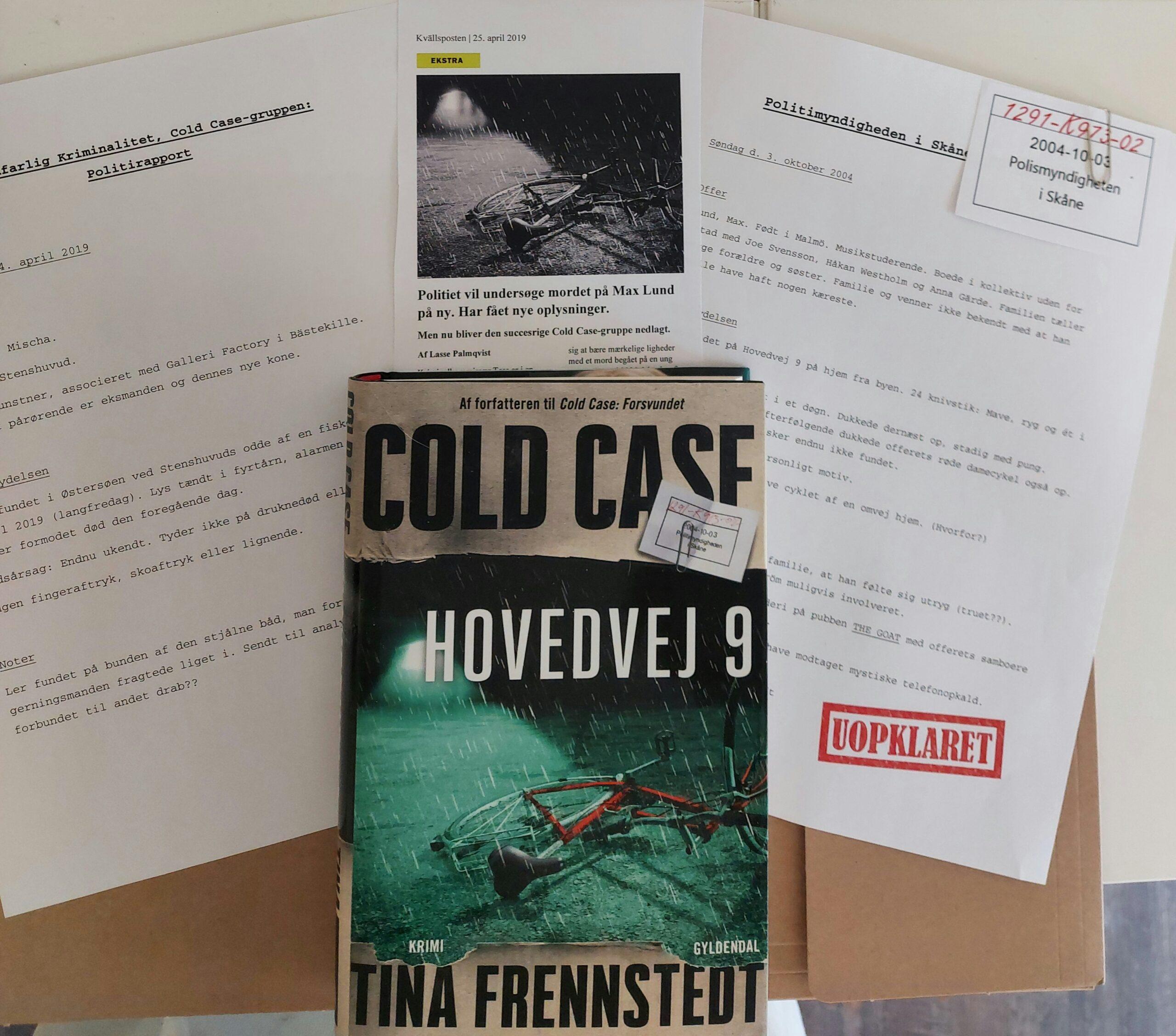 Hovedvej 9 af Tina Frennstedt (Cold case #2)