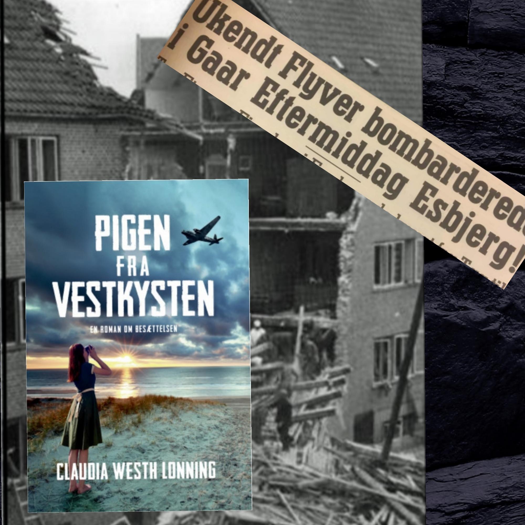 Pigen fra Vestkysten af Claudia Westh Lonning